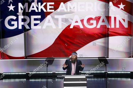 Ceo of the Company Duck Commander and Television Personality Willie Robertson Delivers Remarks on the First Day of the 2016 Republican National Convention at the Quicken Loans Arena in Cleveland Ohio Usa 18 July 2016 the Four-day Convention is Expected to End with Donald Trump Formally Accepting the Nomination of the Republican Party As Their Presidential Candidate in the 2016 Election United States Cleveland