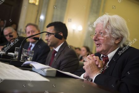 Investigative Writer and Filmmaker Andrew Jennings (r) Testifies During the Senate Commerce Science and Transportation Committee's Hearing Entitled 'Examining the Governance and Integrity of International Soccer' on Capitol Hill in Washington Dc Usa 15 July 2015 United States Washington