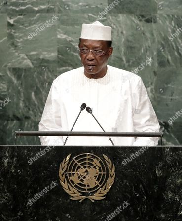 Chad President Idriss Deby Itno Addresses the General Debate of the 71st Session of the United Nations General Assembly at Un Headquarters in New York New York Usa 20 September 2016 United States New York