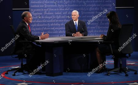 Editorial picture of Usa Vice Presidential Debate - Oct 2016