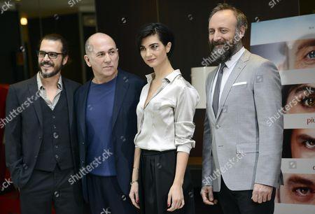 Mehmet Gunsur, Tuba Buyukustun, Ferzan Ozpetek and Halit Ergenc