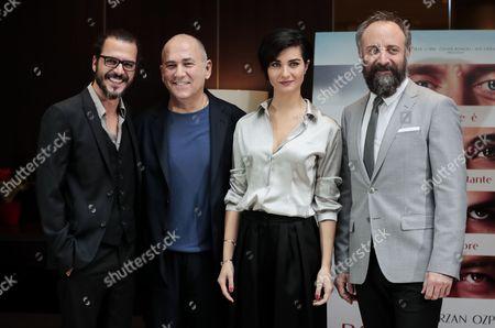 Ferzan Ospetrk, Mehmet Gunsur, Tuba Buyukustun and Halit Ergenc