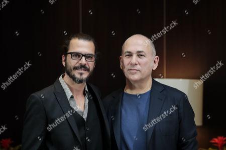 Mehmet Gunsur and Ferzan Ozpetek