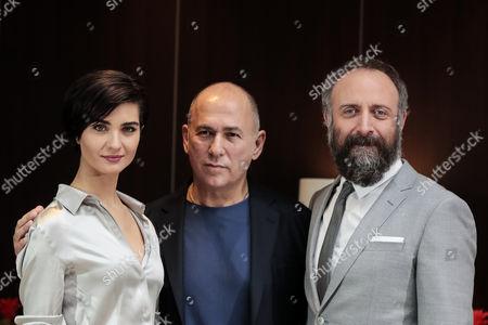 Tuba Buyukustun, Ferzan Ozpetek and Halit Ergenc