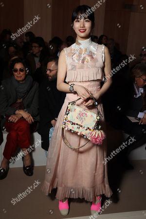 Editorial picture of Fendi show, Autumn Winter 2017, Milan Fashion Week, Italy - 23 Feb 2017