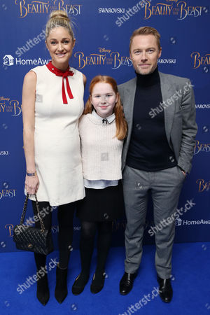 Storm Keating, Ali Keating and Ronan Keating