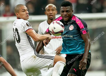 John Ogu and Gokhan Inler