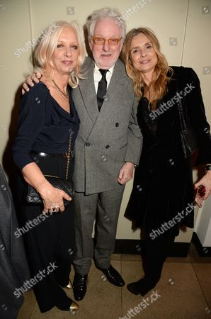 Mary Greenwell, Hugh Hudson and Maryam d'Abo