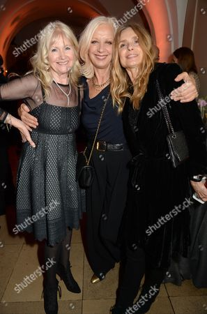 Debbie Moore, Mary Greenwell and Maryam d'Abo