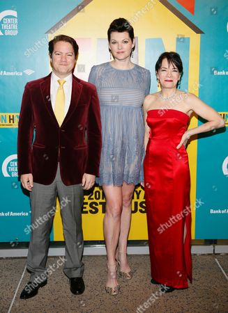 Stock Picture of Robert Petkoff, Kate Shindle and Susan Moniz