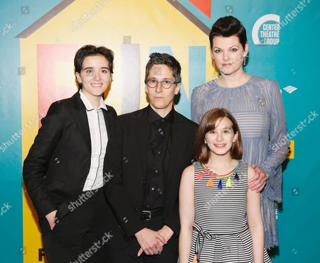 Abby Corrigan, Alison Bechdel, Kate Shindle and Alessandra Baldacchino