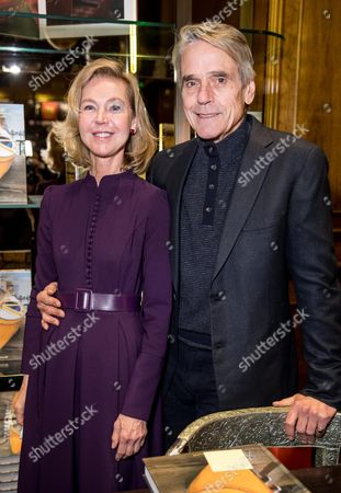 Francesca Bortolotto Possati and Jeremy Irons