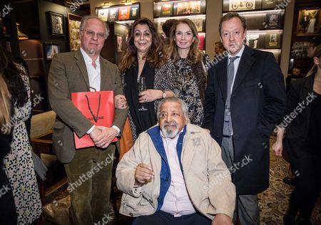 Nadira Naipaul, Geordie Greig and Vidiadhar Surajprasad Naipaul