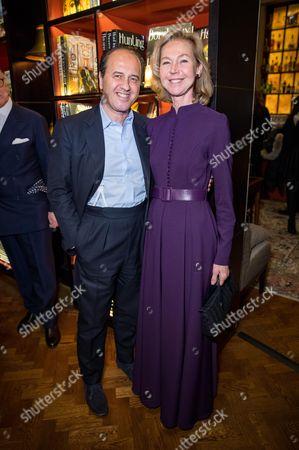 Prosper Assouline and Francesca Bortolotto Possati