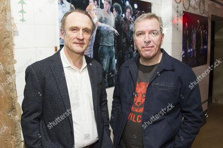 Michael Gould (Oberon) and Lloyd Hutchinson (Puck/Egeus)