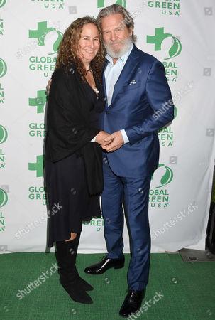 Jeff Bridges and Dianna Cohen