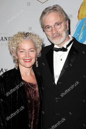 Stock Photo of Amy Irving and Kenneth Bowser