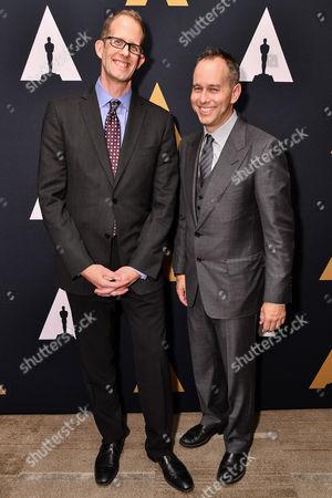 Pete Docter and Jonas Rivera