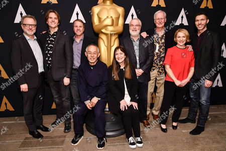 Rich Moore, Byron Howard, Clark Spencer, Toshio Suzuki, Osnat Shurer, John Musker, Ron Clements, John Musker, Arianne Sutner and Travis Knight