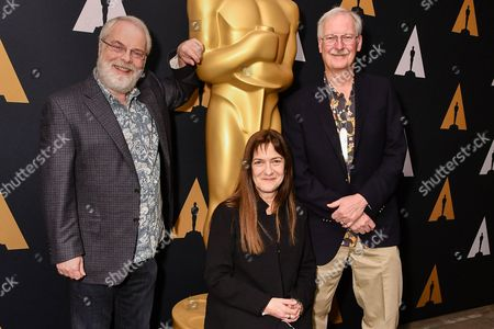 Stock Image of Ron Clements, Osnat Shurer and John Musker