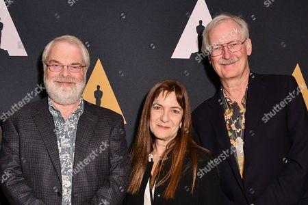 Ron Clements, Osnat Shurer and John Musker