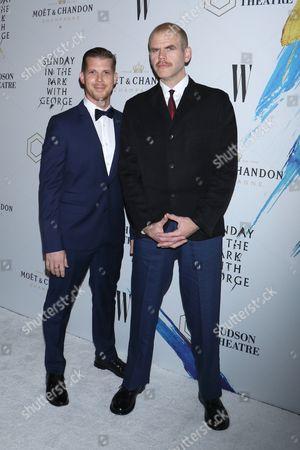 Michael Maize (R) and guest (L)