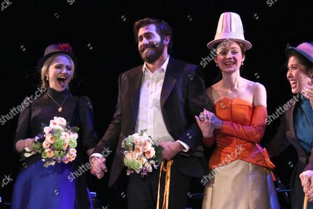Annaleigh Ashford, Jake Gyllenhaal and Erin Davie