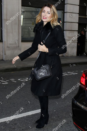 Dannii Minogue at BBC Radio 2 Studios