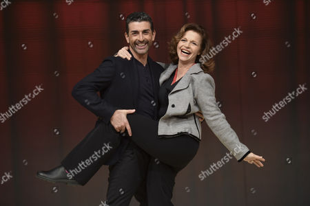 Stock Picture of Simone Di Pasquale and Anna Galiena