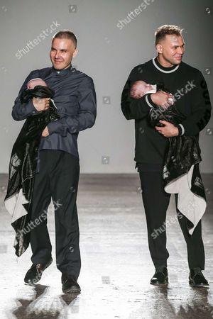 Filippo Cocchetti and designer Sergei Grinko