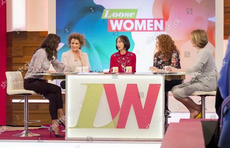 Andrea McLean, Nadia Sawalha, Leah Bracknell, Jennie McAlpine and Kaye Adams
