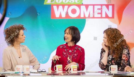 Nadia Sawalha, Leah Bracknell, Jennie McAlpine