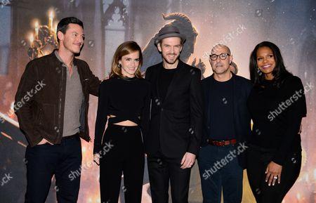 Luke Evans, Emma Watson, Dan Stevens, Stanley Tucci and Audra McDonald