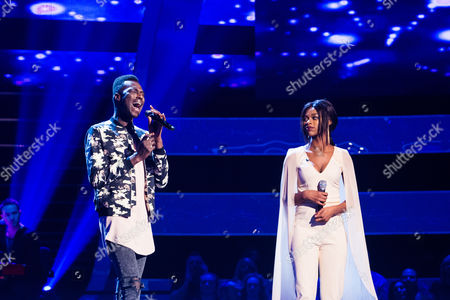 'The Voice UK' (Ep8) - The Battles: Team JHud. Mo -v- Diamond. They perform A Change is Gonna Come by Sam Cooke.