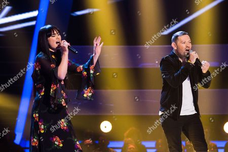 'The Voice UK' (Ep8) - The Battles: Team Gavin. Truly Ford -v- Hadleigh Ford. They perform Go Your Own Way by Fleetwood Mac.