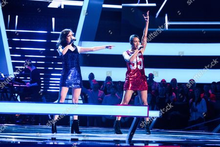 'The Voice UK' (Ep8) - The Battles: Team Will: Clara Hurtado -v-Shakira. They perform Bad Blood by Taylor Swift.