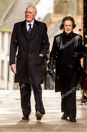 Former Lib Dem leader, Sir Menzies Campbell and his wife