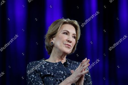 Stock Photo of Carly Fiorina speaks at the Conservative Political Action Conference (CPAC), in Oxon Hill, Md