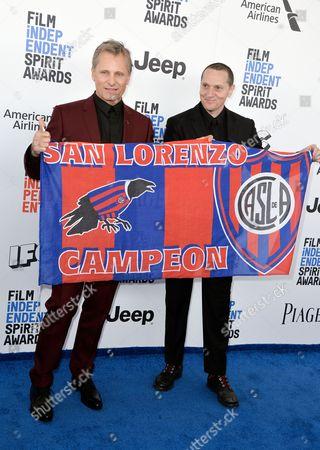 Viggo Mortensen and Matt Ross