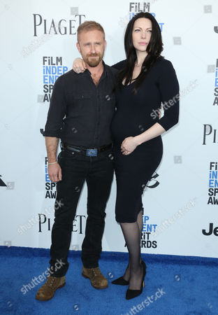 Ben Forster and Laura Prepon