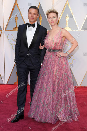 Scarlett Johansson and Joe Machota