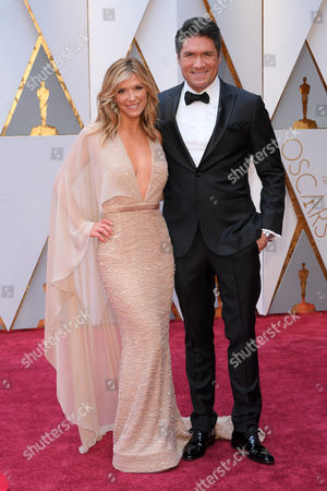 Stock Image of Debbie Matenopoulos and Louis Aguirre