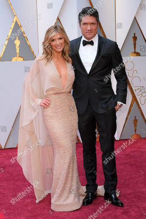 Stock Picture of Debbie Matenopoulos and Louis Aguirre
