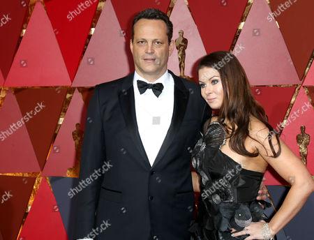 Vince Vaughn and Kyla Weber