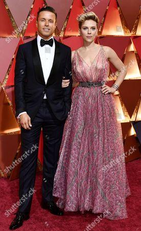 Stock Photo of Scarlett Johansson, Joe Machota