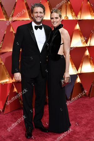 Stock Image of Gary Gilbert and Charlotte Gilbert