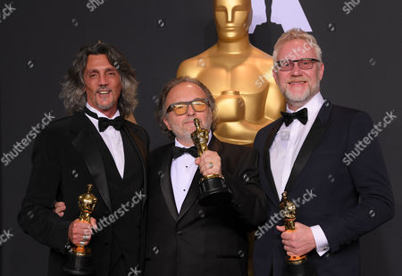 Editorial picture of 89th Annual Academy Awards, Press Room, Los Angeles, USA - 26 Feb 2017
