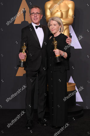 Stock Picture of David Wasco and Sandy Reynolds-Wasco - Production Design - 'La La Land'