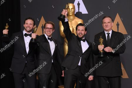 Editorial photo of 89th Annual Academy Awards, Press Room, Los Angeles, USA - 26 Feb 2017