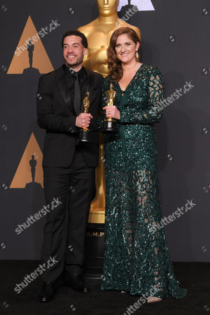 Editorial image of 89th Annual Academy Awards, Press Room, Los Angeles, USA - 26 Feb 2017